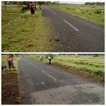 Pemeliharaan Rutin Jalan di Ruas Jalan Jamprong – Sruwohrejo